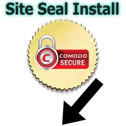 SSL Site Seal Install