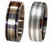 Wholesale Titanium Rings  Silver Collection