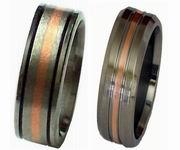 Wholesale Titanium Rings Copper Collection