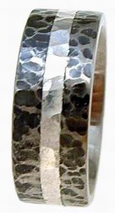 Ring 30 Hammered