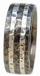 Ring 33 Hammered