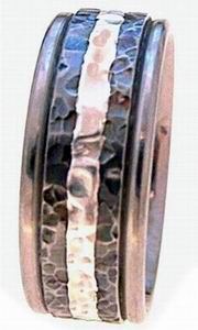 Ring 31 Hammered
