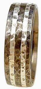 Ring 34 Hammered