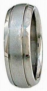 Ring 4 Titanium domed